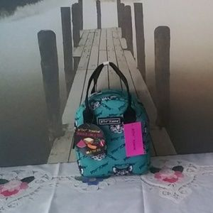Betsey Johnson Cat Lunch Tote NWT